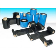"Resin Ribbon Thermal Transfer Ribbon 85mmx300mtr, 1"" Out, IBCR 30"