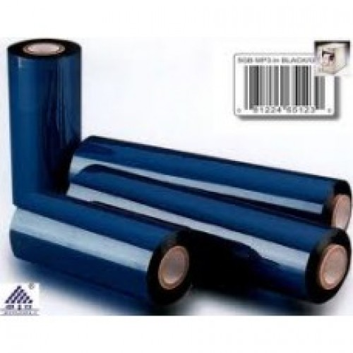 "Wax Resin Thermal Transfer Ribbon 90x300mtr,1"",Out, IBCW 20A Eco."