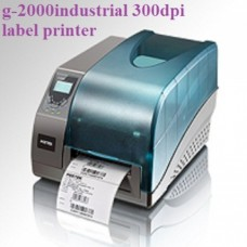 G-2000industrial 300 dpi label printer