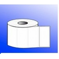 "100mmX38mm -  White Polyester Label, 1""Core, 1 Roll - 1000 Pcs."