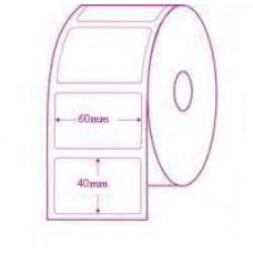 60mmX40mm Blank Polyester Label