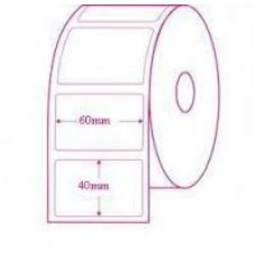 60mmX40mm Blank Polyester Label
