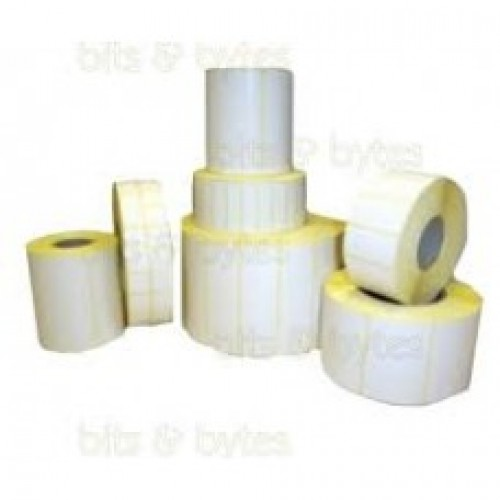 75mmx50mm Blank White Polyester Label