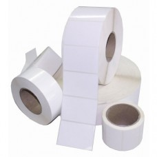 Blank Paper Labels Roll (Set of 5)