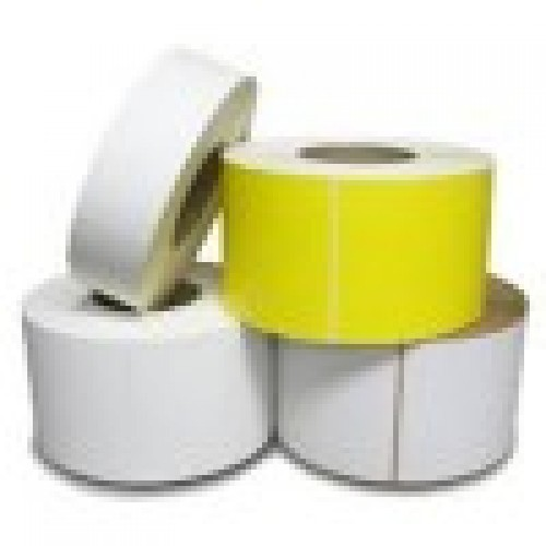 50x50mm Blank  White Polyester Label