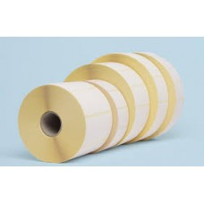 "100mmx50mm Blank White Paper Labels, 1""Core, 1 Roll - 1000 Pcs."