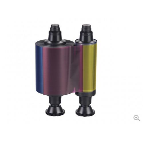 Evolis Short Panel YMCKO Ribbon 400 images for Pebble & Dualys Printers