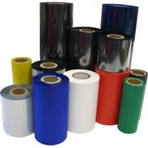 "Resin Ribbon Thermal Transfer Ribbon 85mmx300mtr, 1"" Out, NK 22"