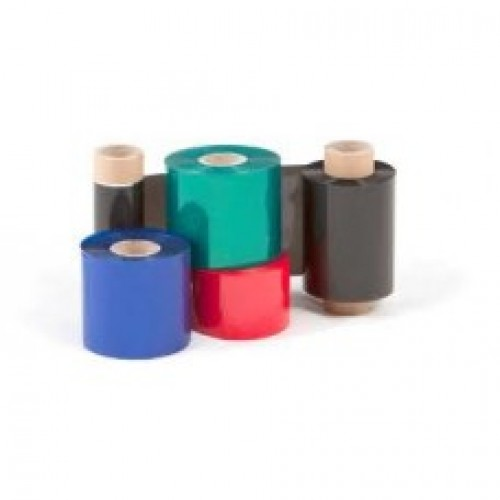 "Wax Resin Thermal Transfer Ribbon 110mmx75mtr, 0.5"" Out, IBCW 20N Premium"