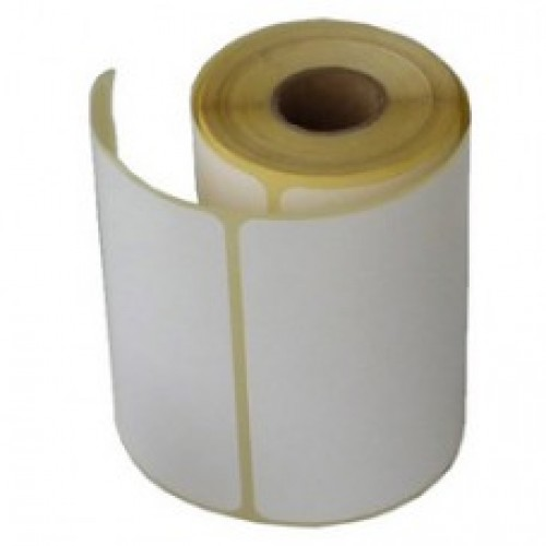 "100mmX75mm Blank Paper Labels, 1"" core, 1 roll-500 Pcs"