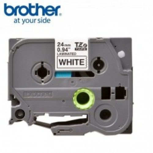 Brother TZe S251 strong adhesive  p-touch label  24mm black on white